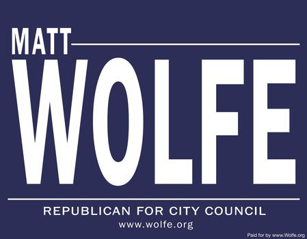 Matt Wolfe Top Challenger in Straw Poll Among Council At Large Candidates