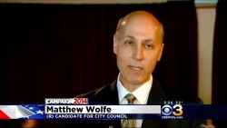 Wolfe Announces Candidacy for At-Large Council Seat